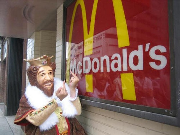How Burger King Got Millions In Free Advertising By Trolling McDonald's